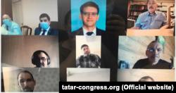 Конгресс утырышында катнашучылар