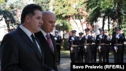 Ministri Fehmi Mujota i Boro Vučinić, Podgorica, 3. novembar 2010