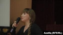 Борай районы Кәшкәләү авылы урта мәктәбе укучысы Җәмилә Зарипова бәйгедә 1 урынны алды