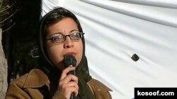 شادی صدر از شبکه وکلای داوطلب در ايران. (عکس: کسوف)