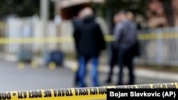 Mesto na kojem je ubijen kosovski političar Oliver Ivanović