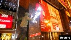 Нападение на отделение Альфа-Банка в Киеве 14 марта 2017 года