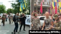 Ростислав Федорко, активіст праворадикальної партії «Братство» Дмитра Корчинського