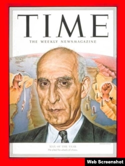 "Mossadegh was named ""Time"" magazine's Person of the Year in 1953."
