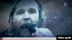 Alexandr Dughin în documentarul televiziunii ARD