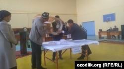 Выборы аксакалов махаллей в Мархаматском районе, 2 мая 2019 года.