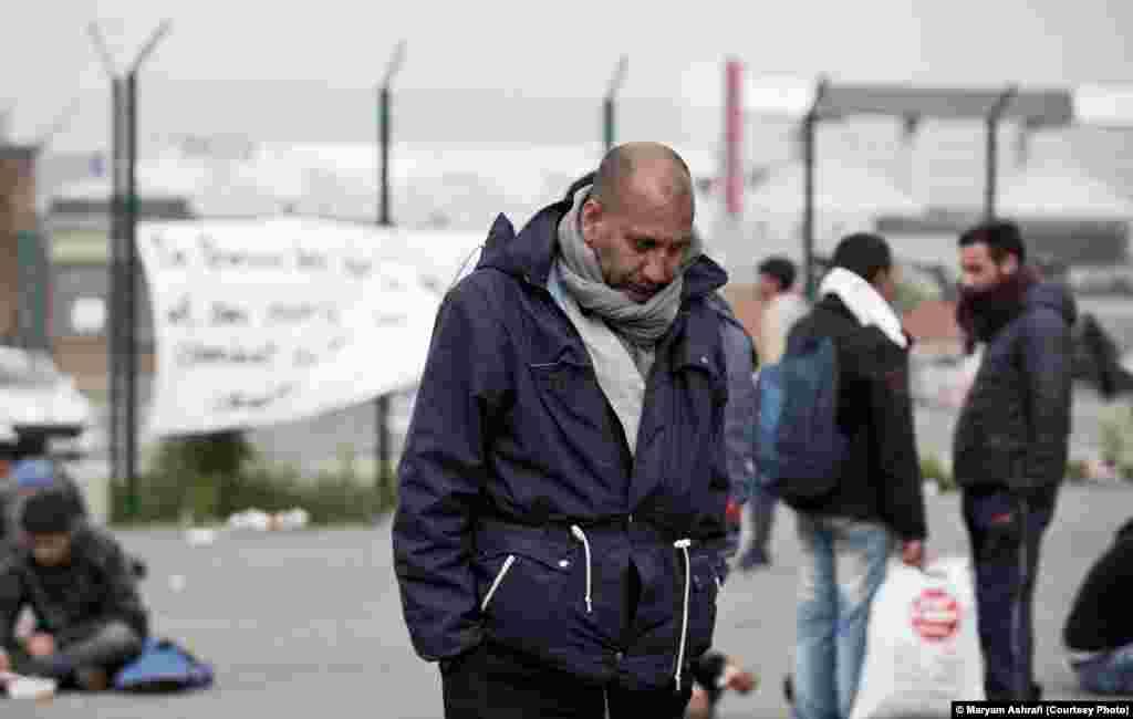 کاله یک روز پس از تخریب اردوگاههای پناهندگان. عکس از مریم اشرافی