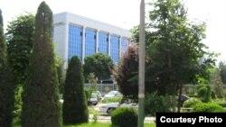 Здание хокимията (администрации) города Андижана.