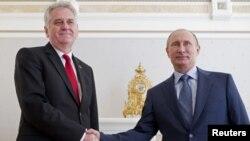 Tomislav Nikolić i Vladimir Putin u Sočiju