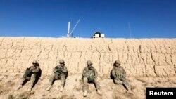 Американские военные в провинции Логар на востоке Афганистана.