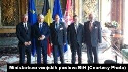 Igor Crnadak na sastanku petorke u Briselu
