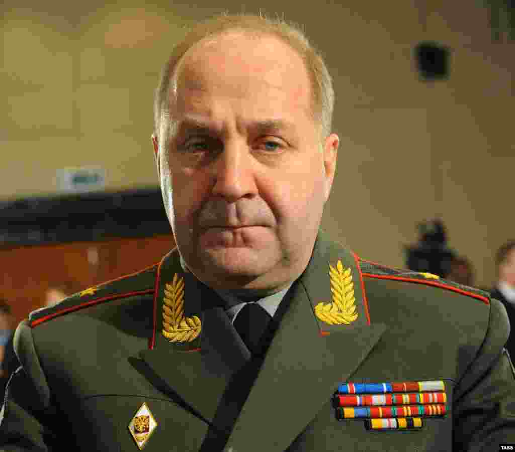 Igor Sergun is the head of Russia's GRU military intelligence service and deputy chief of the General Staff.