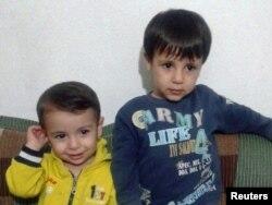 Aylan Kurdi (lijevo) i njegov stariji brat Ghalib