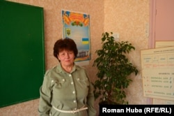 Валентина Овчаренко, вчителька української мови
