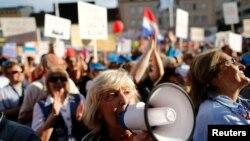 Protest u Zagrebu, arhivska fotografija