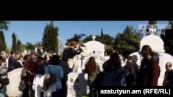 Türkiyədəki ermənilər kütləvi qırğını anır, 2015-ci il