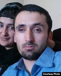 Сайфиддин Эмомов с женой