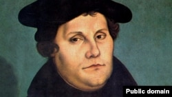 Портрет Мартина Лютера работы Лукаса Кранаха