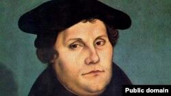 Martin Luther, 1529 - portret de Lucas Cranach cel Bătrân