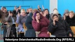 Збори громади в селі Підлужне Костопільського району