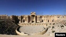 Римський театр у Пальмірі до знищення фасаду