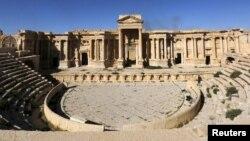 Историческая цитадель в Пальмире.