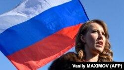 Кандидат в президенты РФ, Ксения Собчак (архивное фото)