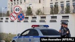 Поліцейські на місці вибуху