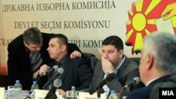 Pamje nga një mbledhje e Komisionit Shtetëror të Zgjedhjeve në Maqedoni