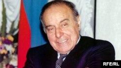 Azərbaycanın keçmiş prezidenti Heydər Əliyev.