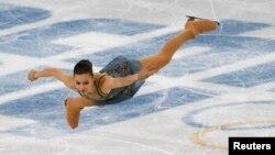 Сочи олимпиадасынын чемпиону Аделина Сотникова.
