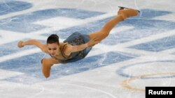 Russia's Adelina Sotnikova at the Sochi 2014 Winter Olympics