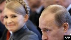 Тимошенко ва Путин (Акс аз бойгонӣ)