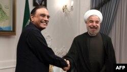 Dabara gelen prezidentleriň arasynda Asif Ali Zardari hem bar.