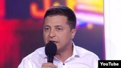 Володимир Зеленський заявив про наміристати президентом в останні хвилини 2018 року