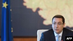 Prime Minister Victor Ponta in Bucharest, July 11
