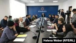 Заседание Совета по защите прав предпринимателей Карагандинской области по итогам 2018 года. Караганда, 20 декабря 2018 года.