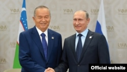 Каримов ва Путин (Ўзбекистон президенти матбуот хизмати сурати)