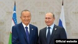 Каримов ва Путин.