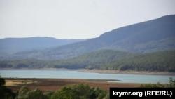 Чернореченское водохранилище, сентябрь 2020 года