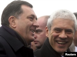 Boris Tadić i Milorad Dodik