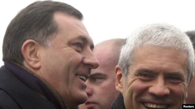 Milorad Dodik i Boris Tadić