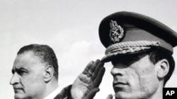 Muammar Qaddafi: Snapshots Of A Strongman