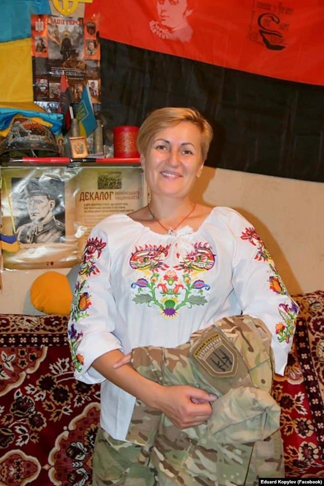 Парамедик ДУК (Правий сектор) Тетяна Тучак