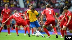 In men's soccer, Brazil defeated Belarus 3-1 to secure a spot in the quarterfinals tournament.
