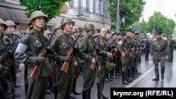 Репетиція параду в Сімферополі