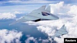 Pamje e aeroplanëve ushtarakë amerikanë
