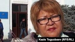 Ботагоз Исаева, свидетель по делу блогера Ермека Тайчибекова, обвиняемого в разжигании розни.