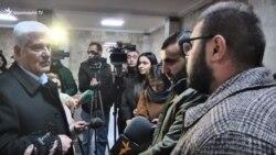 ԵՊՀ ռեկտորի ԺՊ-ն հանդիպեց դասադուլ անող ուսանողներին
