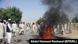 Авганистан - протести во Баглан против убиството на 10 годишно момче од странските и авганистанските трупи Aвгуст 2010